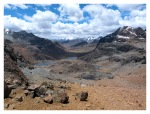 Octobre 2012 : Exploration dans la cordillère Pariacaca -  Vue du Col Padrecaca (5000 m)  Vista de la abra Padrecaca (5000m)