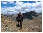 Octobre 2012 : Exploration dans la cordillère Pariacaca -  Thomas et Mayra au Col Padrecaca (5000 m)  Thomas et Mayra en la abra Padrecaca (5000m)