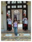 Janvier 2013 : Visite du palais présidentiel à Lima  Visita del palacio presidencial en Lima