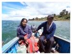 Mars 2013 : Exploration au lac Titicaca - Le bateau pour Amantani  Exploracion en Titicaca - El bote para Amantani