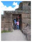 Mai 2013 : Voyage a Cusco - Mayra et Thomas à Pisac  Viaje al Cusco - Mayra y Thomas en Pisac