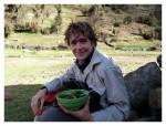 Mai 2013 : Exploration à Chavin - Thomas profite de l'hospitalité andine  Exploracion en Chavin - Thomas disfrutando de la hospitalidad andina
