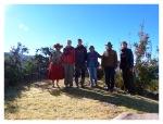 Juin 2013 : Excursion à Llachon - Dans le jardin de Valentin avec Mathilde et Cédric  Excursion en Llachon - En el jardin de Valentin con Mathilde y Cédric