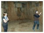 Juin 2013 : Première visite guidée à Cutimbo avec Cindy et Antoine  Primera visita guiada en Cutimbo con Cindy y Antoine