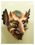 Juillet 2013 : Visite du musée de la nation - masque de diable  Visita del museo de la nacion - mascara de diablo