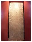 Juillet 2013 : Visite du musée d'archéologie et antropologie - Stèle de Raimondi  Visita del museo de archeologia y antropoligia - Estela raimondi