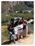 Aout 2013 : Excursion à Yauyos et Lunahuana - Mayra, Olivier et Lionel.  Excursion en Yauyos y Lunahuana - Mayra, Olivier et Lionel.