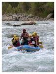 Aout 2013 : Excursion à Yauyos et Lunahuana - Olivier et Lionel en raft sur le fleuve cañete  Excursion en Yauyos y Lunahuana - Olivier y Lionel en raft en el rio Cañete