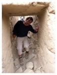 Aout 2013 : Excursion à Yauyos et Lunahuana - Olivier à Incahuasi. La nette avancée des travaux de fouilles archéologiques et de nettoyage à Incahuasi furent l'une des bonnes surprises de l'année !  Excursion en Yauyos y Lunahuana - Olivier à Incahuasi. La progrecion de los trabajos de investigacion y de limpieza de Incahuasi fue una de las buenas sorpresas del año !