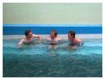Aout 2013 : Trek dans le canyon Cotahuasi (Arequipa) - Maxence, Romain et Maxime aux sources chaudes de Luicho  Trek en el canyon de Cotahuasi (Arequipa) - Maxence, Romain y Mickael en las aguas termales de Luicho