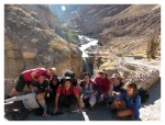 Aout 2013 : Trek dans le canyon Cotahuasi (Arequipa) - Mickael, Maxence, Mayra Olivier, Lionel, Marcio, Romain et Aurore