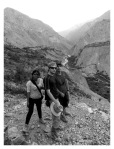 Aout 2013 : Trek dans le canyon Cotahuasi (Arequipa) - Mayra, Romain et Olivier à Velinga  Trek en el canyon de Cotahuasi (Arequipa) - Mayra, Romain et Olivier à Velinga
