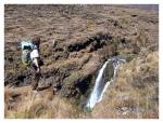 Aout 2013 : Exploration en cordillère Carabaya - Thomas sur le sentier de Pitumarca  Exploracion en la cordillera Carabaya - Thomas en el camino de Pitumarca