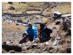 Aout 2013 : Exploration en cordillère Carabaya - Mayra et Gustavo aux ruines de Pitumarca  Exploracion en la cordillera Carabaya - Mayra y Gustavo en las ruinas de Pitumarca