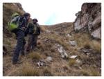 Septembre 2013 : Trek de l'apu Pariacaca avec Annaïg et Gauthier - Canyon de Shutco  Trek del apu Pariacaca con Annaïg y Gauthier - canyon de Shutco
