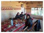 Septembre 2013 : Llachon avec Annaïg et Gauthier - Petit déjeuner chez Valentin  Desayuno en la casa de Valentin