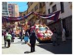 Septembre 2013 : La Paz  Procession religieuse